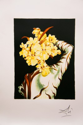 Surrealist Flower, Salvador Dali