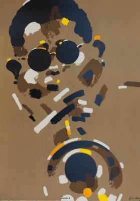 Dizzy Gillespie Waldemar Swierzy fine art print horn trumpet jazz icon