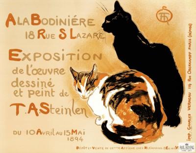 Ala Bodiniere by Steinlen