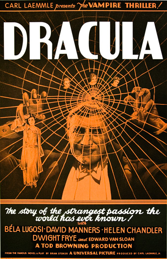 Movie posters art sale: Dracula Bela Lugosi